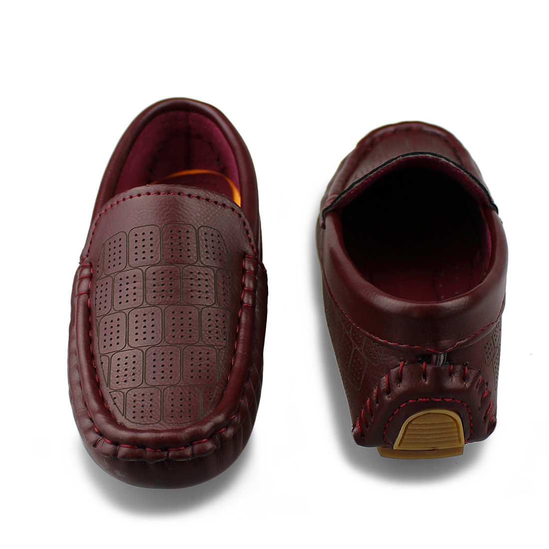 Hawkwell Kids Loafer Moccasin Oxford Driver Shoes Toddler//Little Kid//Big Kid