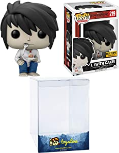 L [with Cake] (Hot Topic Exc): Funk o Pop! Animation Vinyl Figure Bundle with 1 Compatible 'ToysDiva' Graphic Protector (219 - 13578 - B)