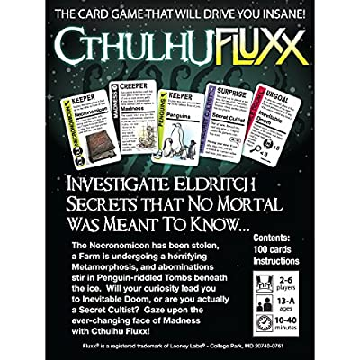Cthulhu Fluxx: Keith Baker: Toys & Games
