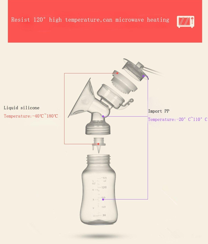 Elektrische Brustpumpe Novatech Dual Brustpumpe Stillen Automatische Massage nach der prolaktinspiegel