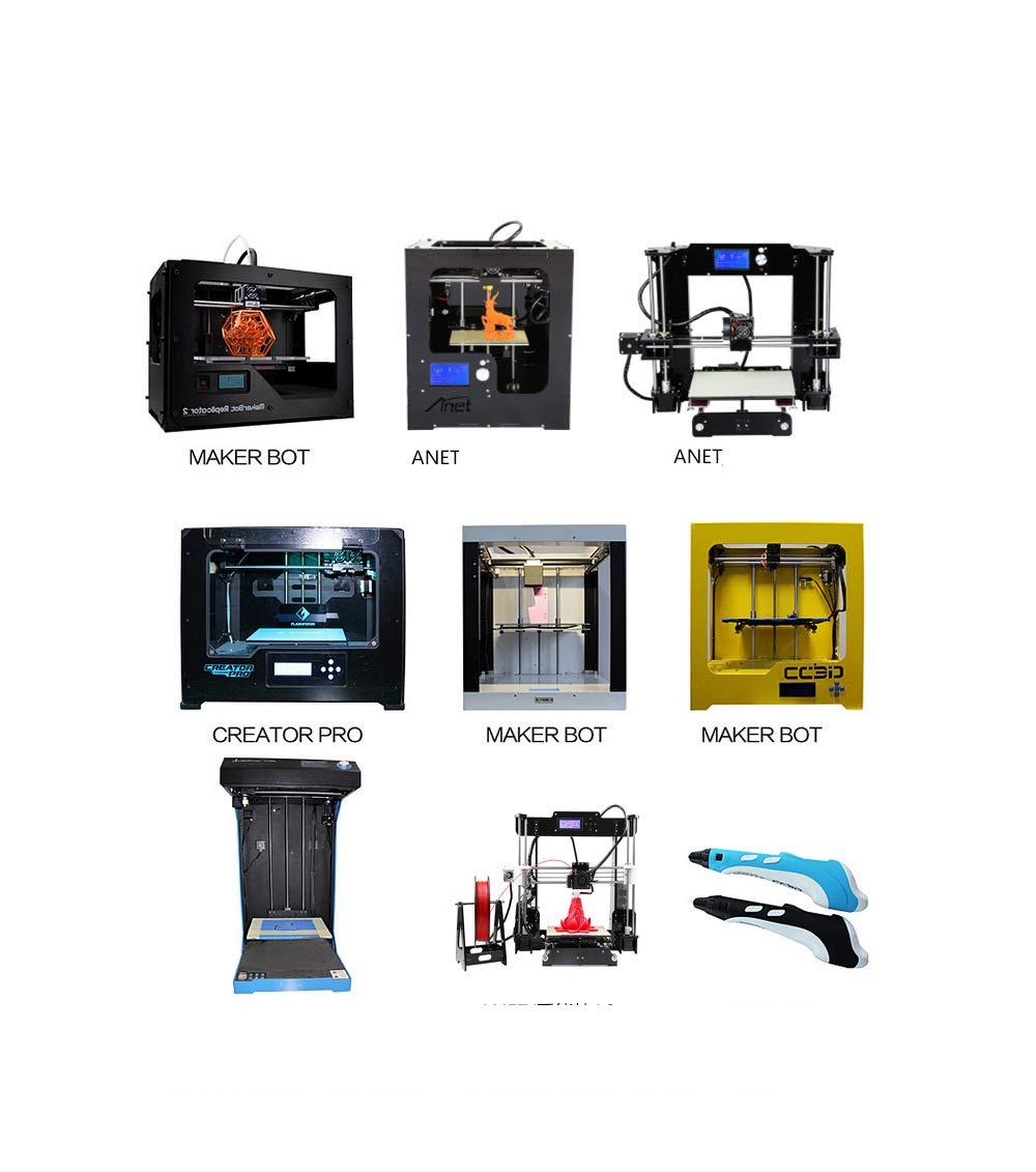 Filamento De Impresión 3D, Impresora 3D De 1.75 Mm De Filamento ...
