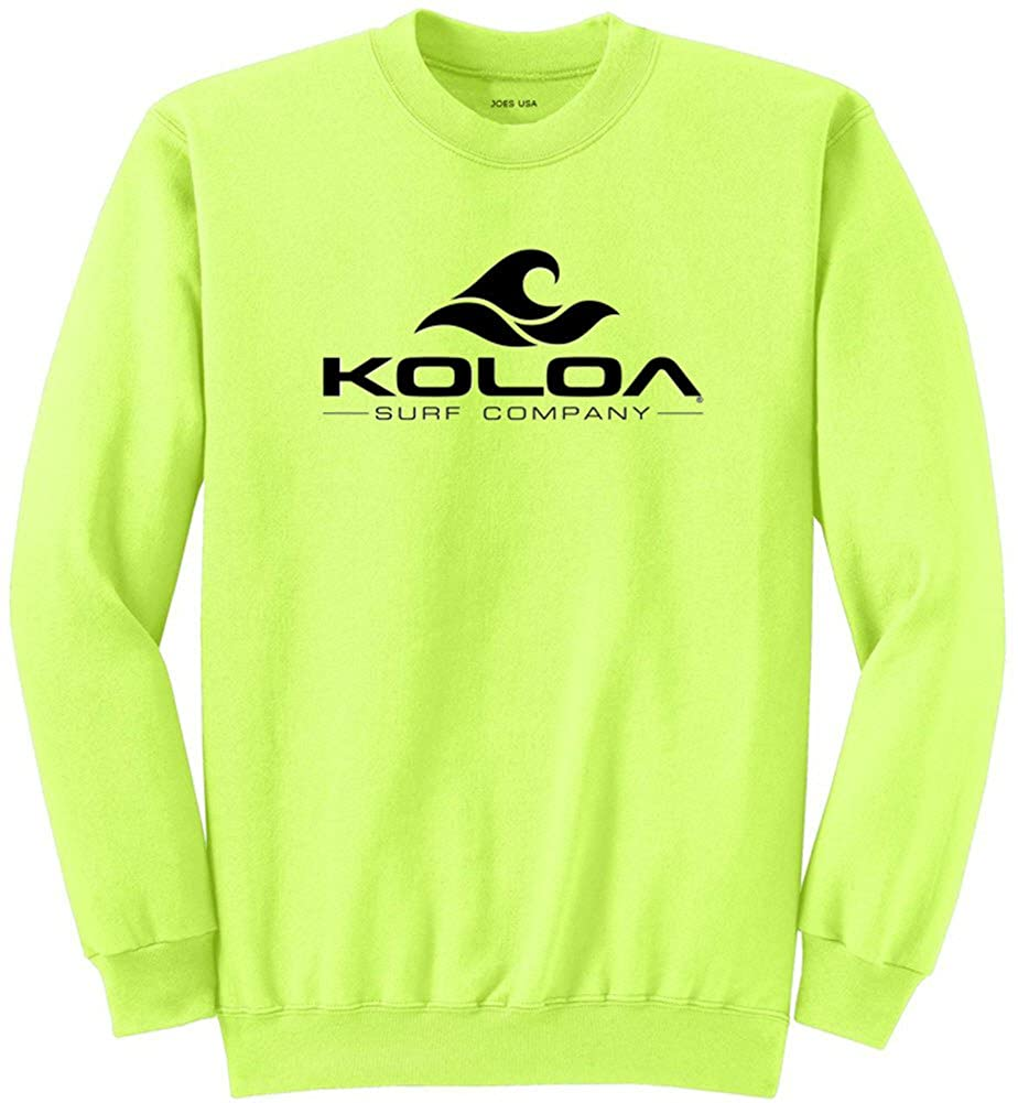 Joe's USA Koloa Surf Co. Wave Logo Sweatshirts in 28 Colors in Sizes S-4XL USAL060320151027