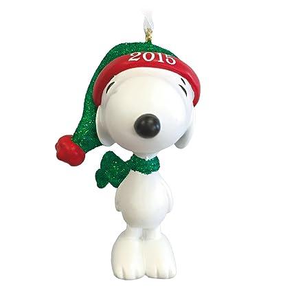 hallmark peanuts snoopy christmas ornament