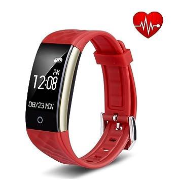 Montre Connectée, Tigerhu Fitness Tracker dActivité Etanche IP67 Montre Sport Bracelet Connecté Podometre