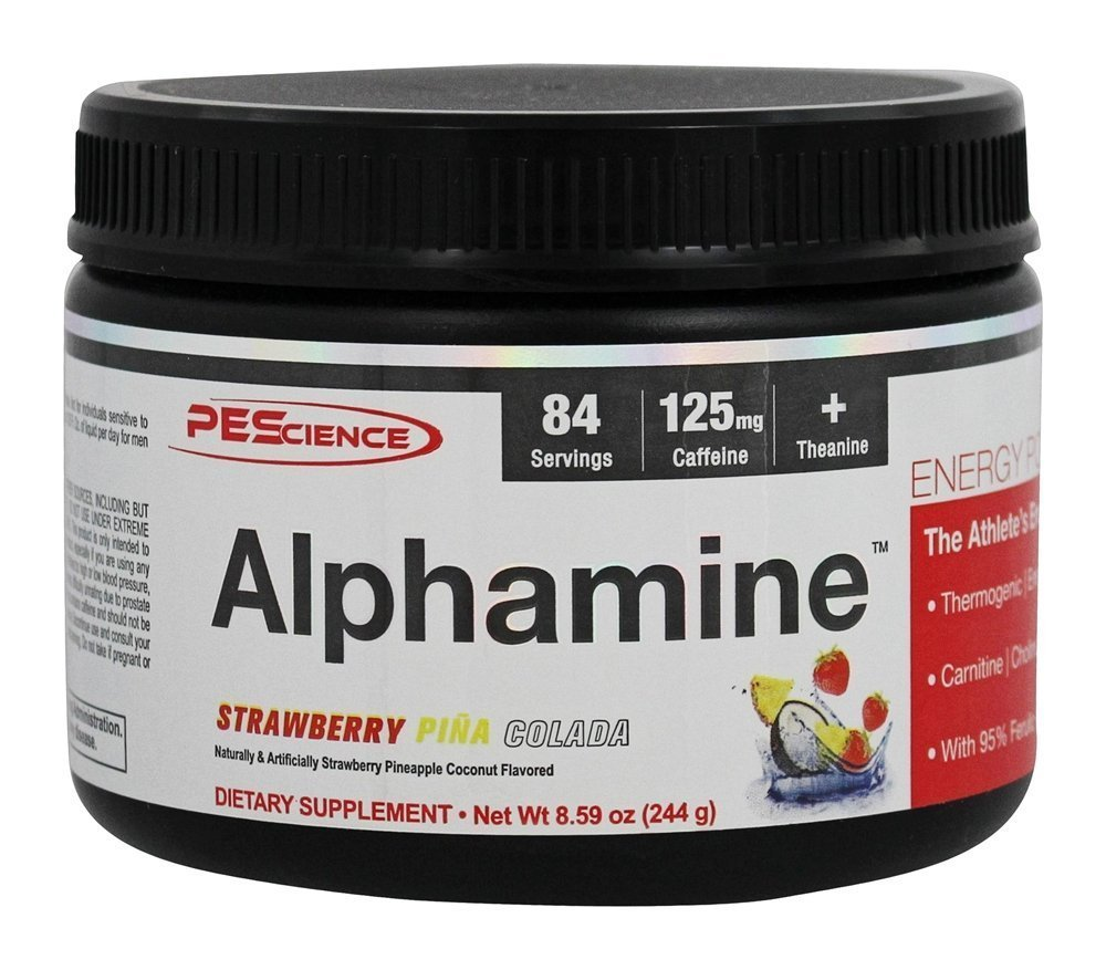 PEScience Alphamine Strawberry Pina Colada 84 Servings by PEScience