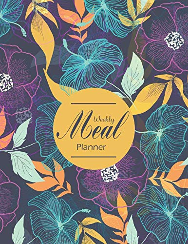 Weekly Meal Planner: A Meal Prep Idea Journal Weekly 2 Years Diary Log Journal Calendar Grocery List Menu Keto Diet Plan Renal Cookbook Heart Healthy ... Vegan Diabetic Slow Cooker Notebook Diary by Mile Colony