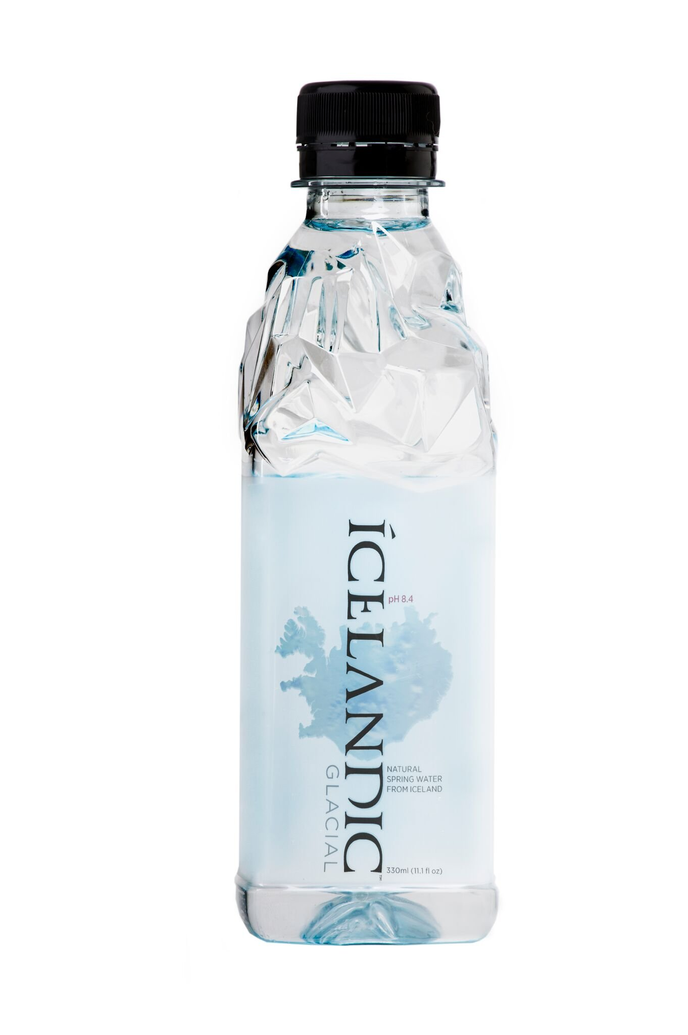 Icelandic Glacial Natural Spring Water, 11.1 Fl Oz, Pack of 30