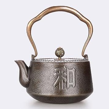 HYLR Japanischer Eisenkessel unbeschichtetes Eisenkessel kochen ...