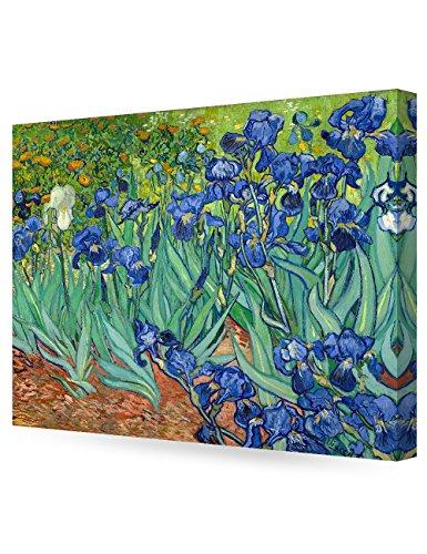 DecorArts Irises Vincent Painting Reproduction