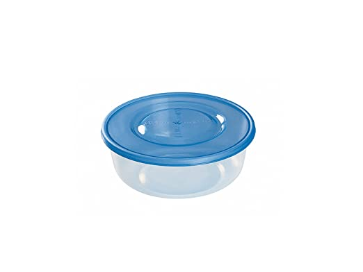 Redondo Heidrun 1815/S Caja Nevera Micro Transparente//Azul 0.9/L