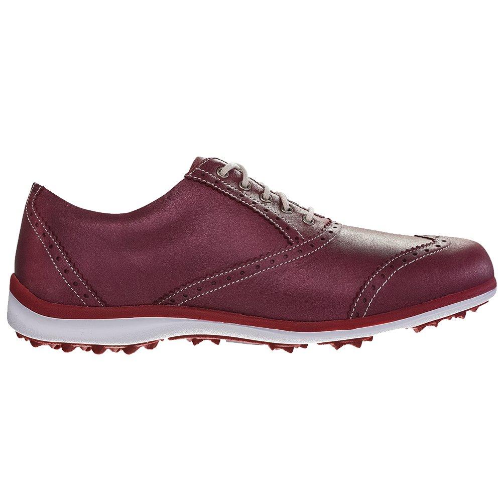 FootJoy Women's LoPro Golf Shoes Maroon Size 9.5 M US