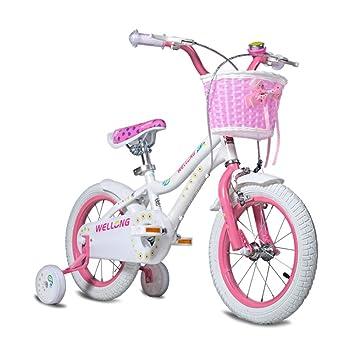 grossiste b8006 debe3 XQ- Enfant Vélo Fille 3-4-5-6 Ans Enfant Vélo 12 Pouces Les ...