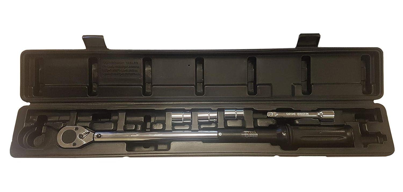 // LB 40-210Nm // 354-1859 Microm/ètre dynamom/étrique /à cl/é dynamom/étrique carr/ée de 1//2 po Certificat d/étalonnage SOS Tools S1002