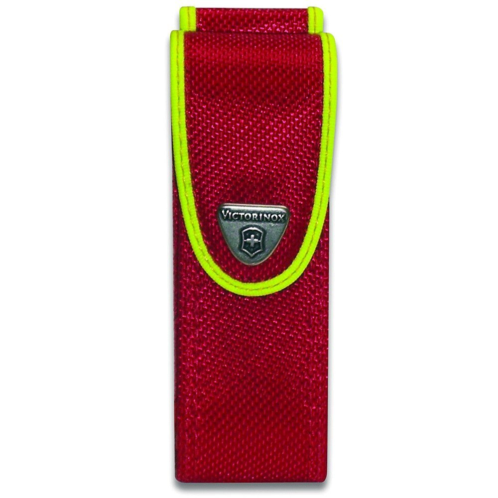 Victorinox Swiss Army Rescue Tool Pocket Knife with Pouch + Pocket Knife Sharpener + Cleaning Cloth - Top Value Bundle! (Fluorescent Yellow) by Victorinox (Image #8)