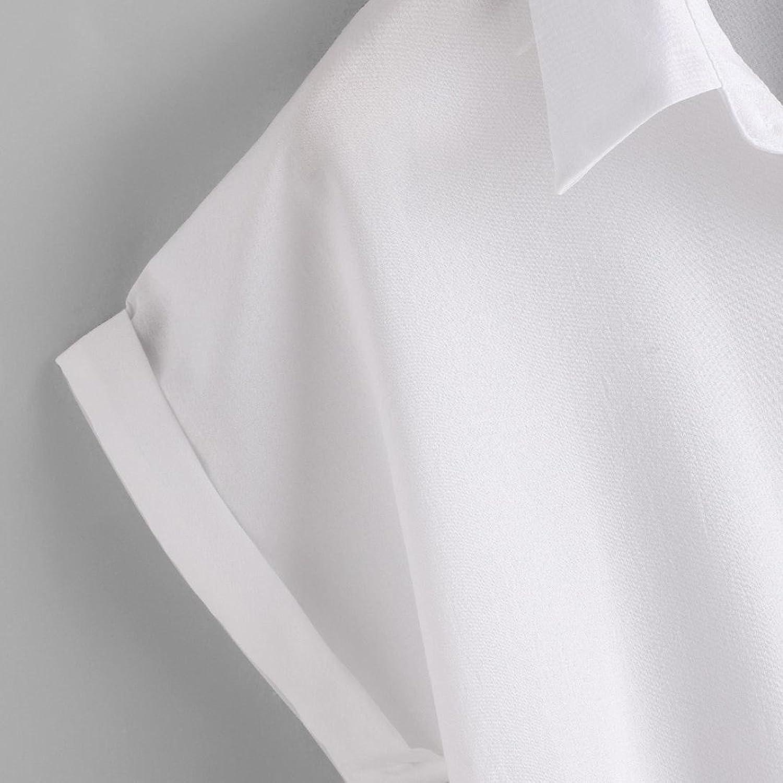 Amazon.com: DondPO Clearance Women Shirt Womens Blouse Ladies Rose Flower T Shirt Short Sleeve Shirt Women Casual Short Style Blouse Summer White Down ...