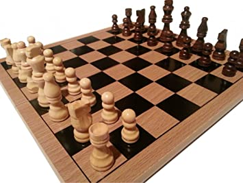 TRADITIONAL CHESS BOARD and PIECES - GREAT QUALITY LOW PRICE