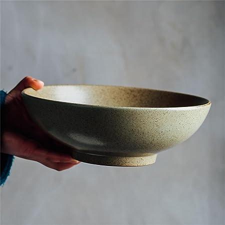 Liuwenan Cuenco de cerámica ensaladera Cuenco de Sopa casero ...
