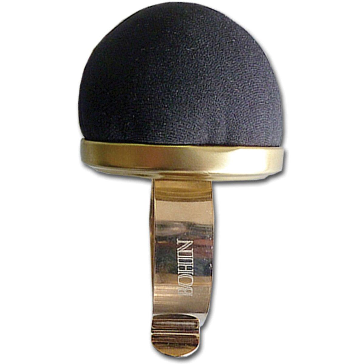 Bohin Wrist Pincushion, Black Velvet 75590