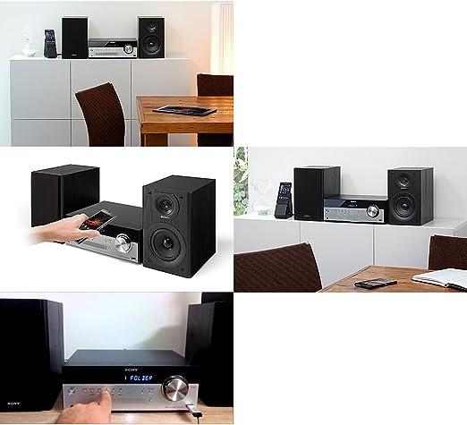 Amazon.com: Sony All in One Elegante sistema estéreo de ...