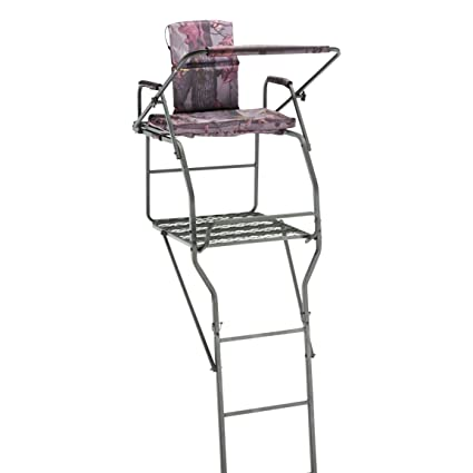 Amazon Guide Gear 18 Jumbo Ladder Tree Stand Hunting Tree