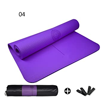 Yoga 185cm * 80cm * 10mm Mats Hombres y Mujeres Sports Mats ...