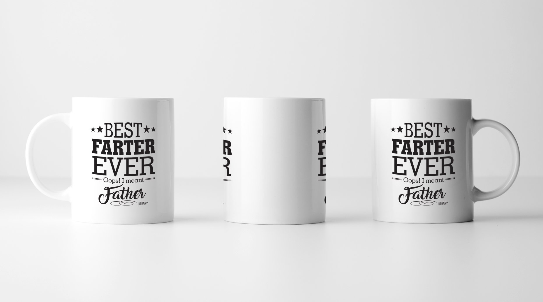 Dad Gifts From Daughter Son Birthday Gift Coffee Mug Worlds Best Farter I Mean Father Cool Happy Funny Christmas Mugs Top Dads