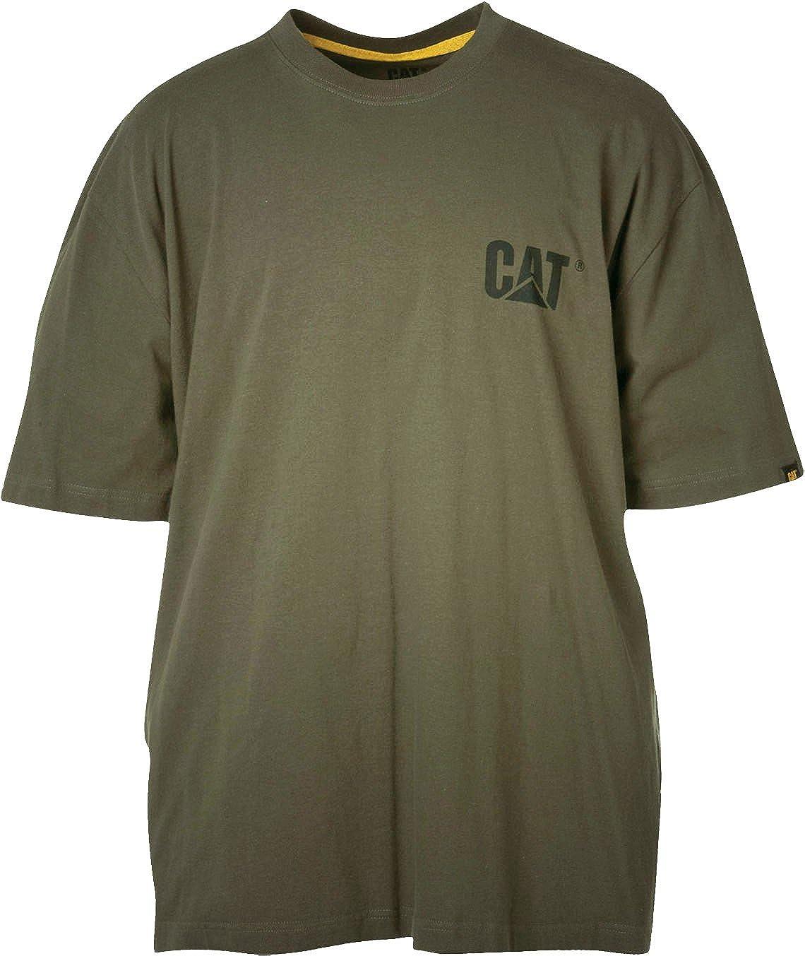4eec1568f785 Amazon.com  Caterpillar Men s Trademark T-Shirt  Clothing