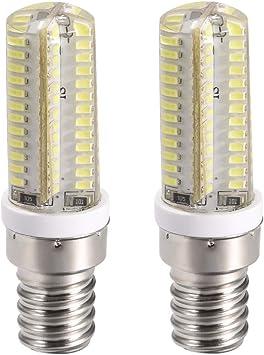 uxcell - Bombilla LED E14 para horno de microondas, 4 W, 600 lm ...