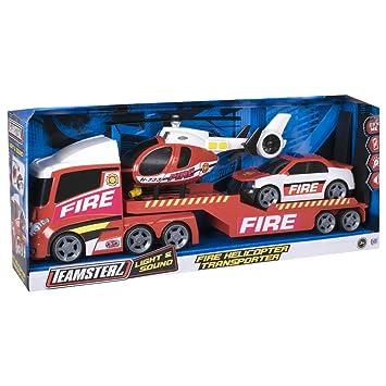 Para BomberosGg Camiones Teamsterz 00957 Vehículos Juegos Grandes MSVqzUp