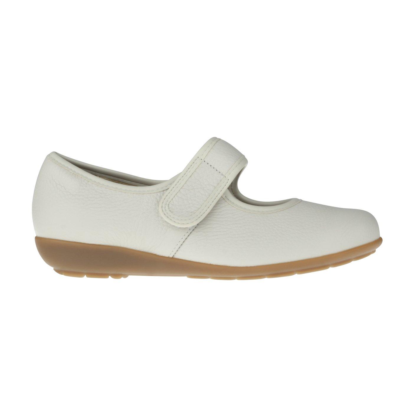 Natural aus Feet Tessamino Damen Ballerina aus Natural Hirschleder | Klassisch | Weite H | für Einlagen Beige cdf0fc