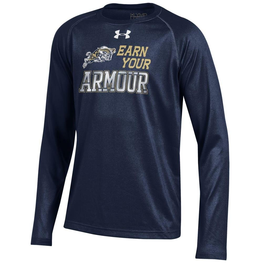 2019春大特価セール! ユースunder armour Naval Academy海軍Tech Sleeve Long Sleeve Tee YTH YTH ユースunder (18-20) B01FTC729K, Best Life:e08502ce --- a0267596.xsph.ru
