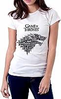 Casa Stark Logo Cita para mujer T shirt