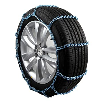 Rescuer Cadenas de Nieve, Cadena para Nieve para Neumáticos De Camiones Ligeros Universales Fácil de Montar para Cualquier Ancho De Neumático W-138 (Color ...