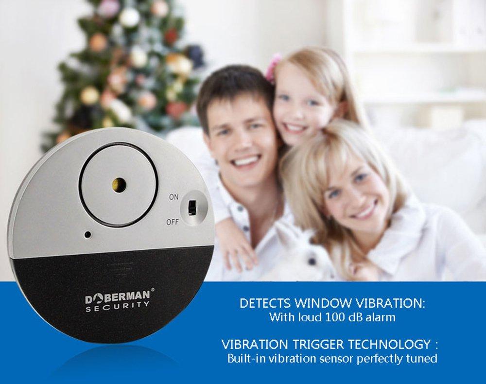 Alarma casa, WER Alarma Hogar de Seguridad de Ventana Dóberman Ultrafino DOBERMAN SECURITY Ultra-Slim Window Alarm