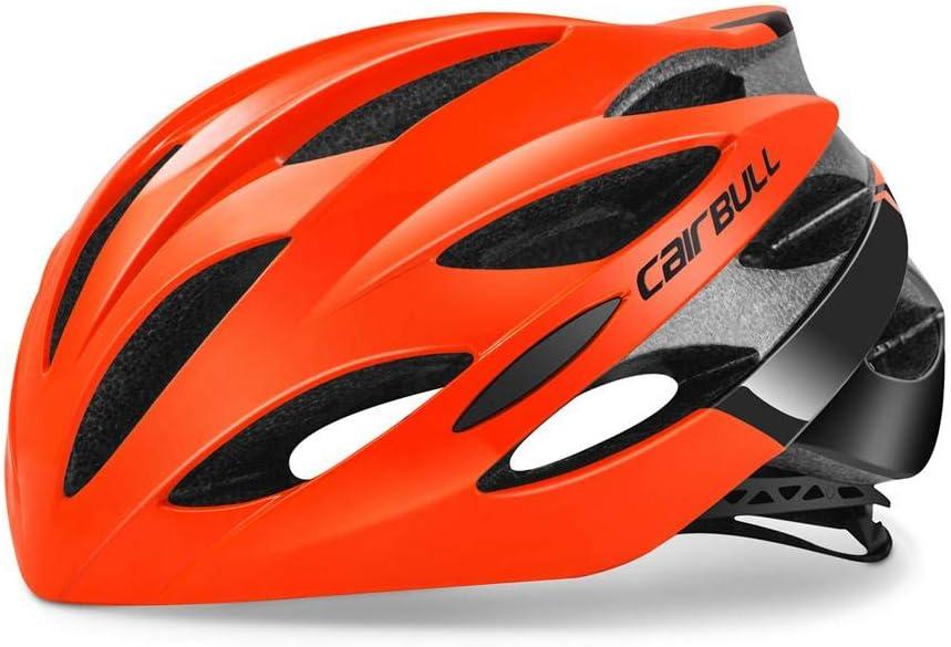Sponsi para CAIRBULL Cascos de bicicleta para hombres y mujeres Lo /último en peso ligero Casco de monta/ña para adultos Adulto Negro Rojo Blanco Azul Sombrero Cubierta de la cabeza