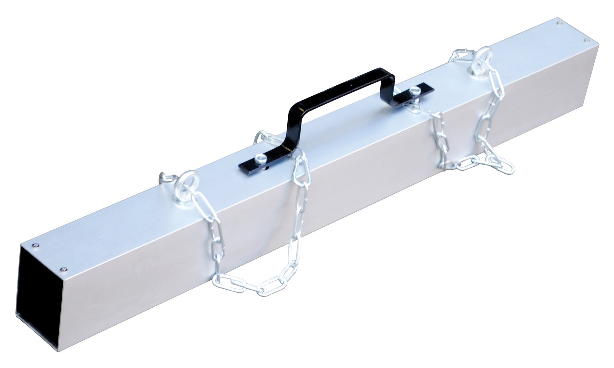 Vestil MS-36 Magnetic Chain Hanger Release Sweeper, 36'' Overall Dimensions, 3'' Length x 40'' Width x 7'' Height, 45 lb. Capacity