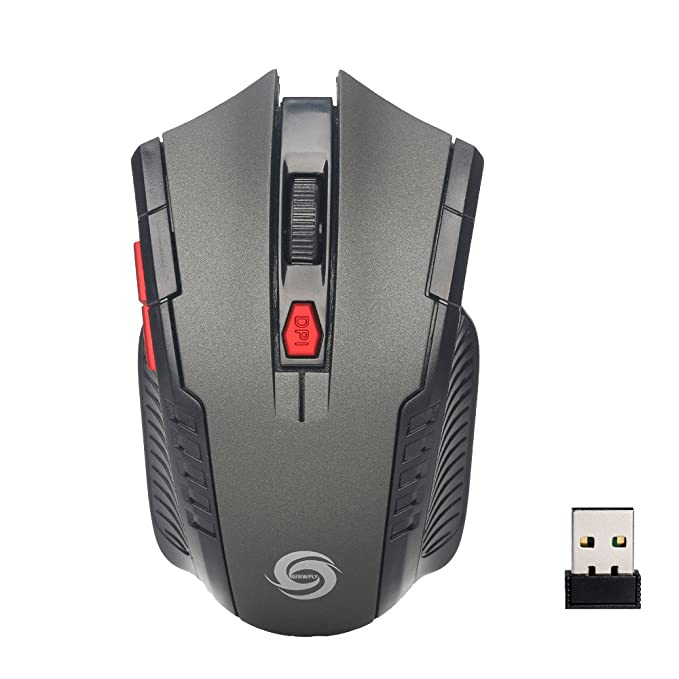 Mini Wireless Optical Gaming Mouse Mice& USB Receiver for PC Laptop for Play Game