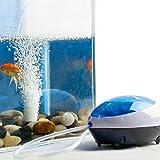 Malloom® Nuevo Ultra Silencioso High Out Eficiencia energética oxígeno Bomba de aire Pecera Acuario (