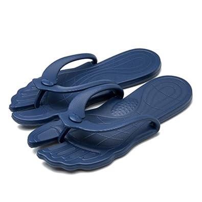 50db8897fc03 Christalor Flip Flops for Men Women Boys Crocs White Leather