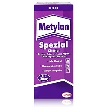 HENKEL Metylan-Kleister Spezial 200g zum Tapezieren: Amazon.de ...
