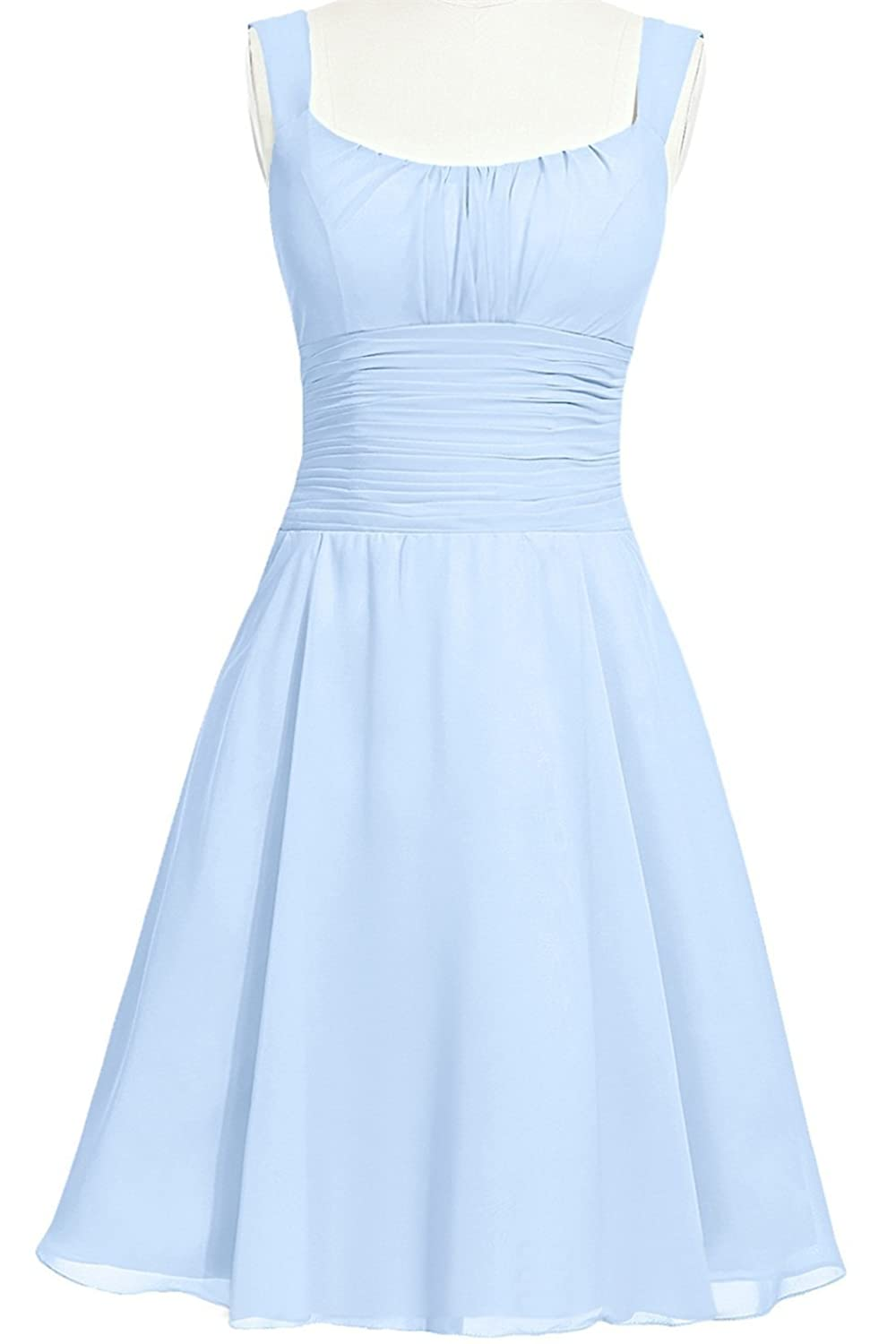 MittyDressesWomens Evening Homecoming Prom Party Cocktail Dress Size 10 US Sky Blue