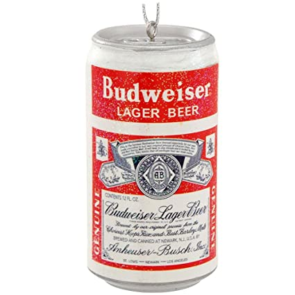 Vintage Budweiser Beer Can Christmas Ornament Bud Lager Decoration New - Amazon.com: Vintage Budweiser Beer Can Christmas Ornament Bud Lager
