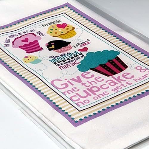 Amazon.com: Personalized Hand-printed Cupcake Kitchen Tea