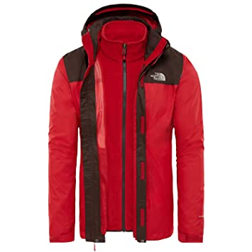 a3a3c0394ccd THE NORTH FACE Men s Evolve Ii Triclimate Jacket  Amazon.co.uk ...