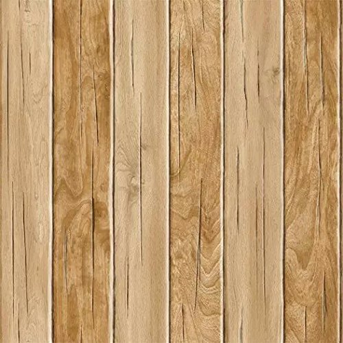 Blooming Wall Vintage Wood Plank Wood Panel Wallpaper Wal...