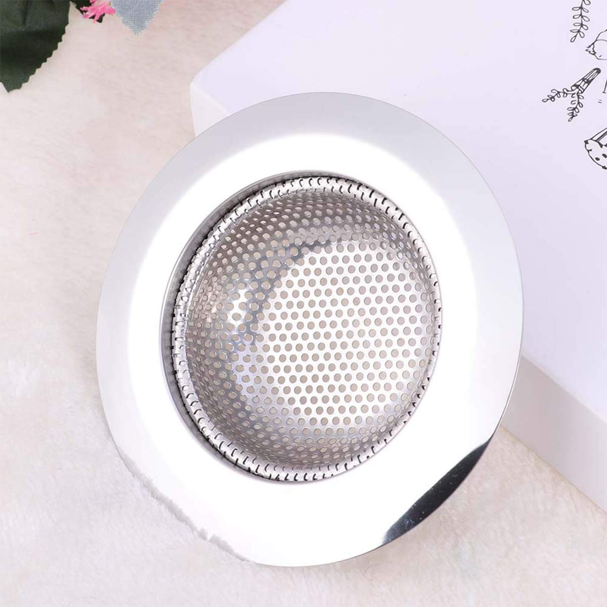 Yardwe Acero Inoxidable Pelo Catcher Pelo Tope Sink Colino Universal de Ducha Drain Cubierta Filtro para Cocina ba/ño ba/ñera y Cocina