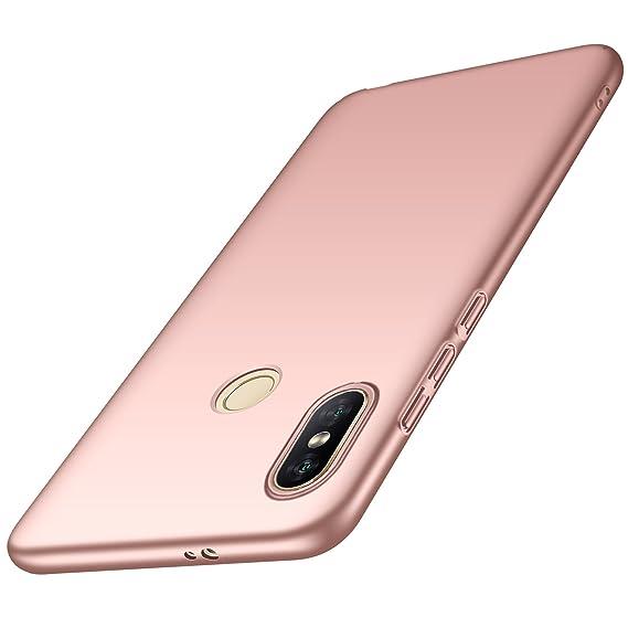 hot sale online 7124b c4bb9 Anccer Xiaomi Redmi Note 5 Pro Case, Redmi Note 5 Case [Colorful Series]  [Ultra-Thin] [Anti-Drop] Premium Material Slim Fit Cover (Pink)