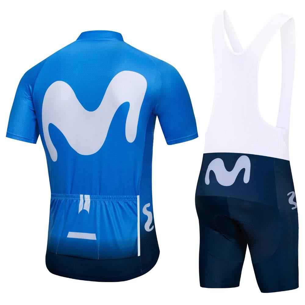ZHLCYCL Traje Ciclismo Hombre, Maillot Ciclismo y Culotte Ciclismo ...