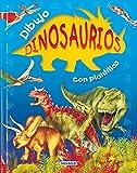 Dibujo Dinosaurios con Plantillas, Manuela Martin, 8430558918
