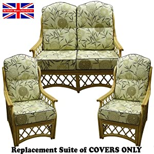 hump top new suite cushion covers only cane conservatory. Black Bedroom Furniture Sets. Home Design Ideas
